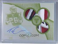 Rookie Autographed Triple Relics White Whale - Tevin Coleman #/1