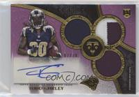 Rookie Autographed Triple Relics - Todd Gurley #/70