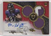 Rookie Autographed Triple Relics - Maxx Williams /15