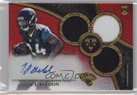 Rookie Autographed Triple Relics - T.J. Yeldon #/15