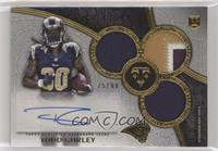 Rookie Autographed Triple Relics - Todd Gurley #/99