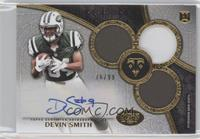 Rookie Autographed Triple Relics - Devin Smith #/99