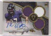 Rookie Autographed Triple Relics - Maxx Williams /99