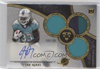 Rookie Autographed Triple Relics - Jay Ajayi /99