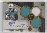 Rookie Autographed Triple Relics - Jay Ajayi #92/99