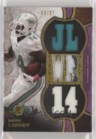 Jarvis Landry [Noted] #/27
