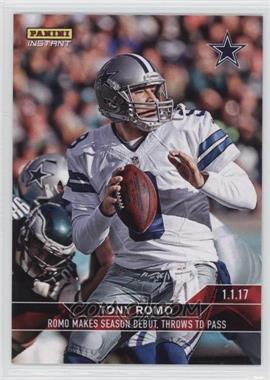 2016-17 Panini Instant NFL - [Base] #601 - Tony Romo /79