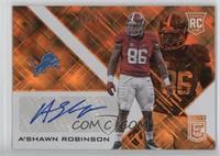 A'Shawn Robinson #/10