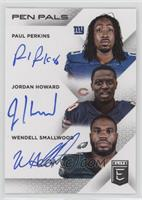Jordan Howard, Paul Perkins, Wendell Smallwood