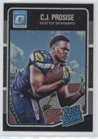 Rated Rookies - C.J. Prosise #/25