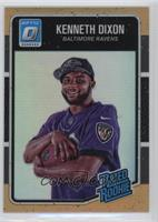 Rated Rookies - Kenneth Dixon /199