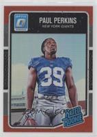 Rated Rookies - Paul Perkins /99