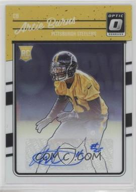 2016 Donruss Optic - [Base] - Rookie Signatures [Autographed] #103 - Artie Burns /150