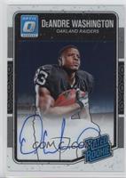 Rated Rookies - DeAndre Washington /150