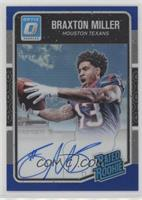 Rated Rookies - Braxton Miller /75