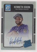 Rated Rookies - Kenneth Dixon /99