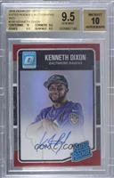 Rated Rookies - Kenneth Dixon [BGS9.5GEMMINT] #/50