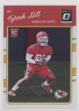2016 Donruss Optic - [Base] #117 - Rookies - Tyreek Hill