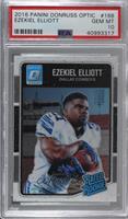 Rated Rookies - Ezekiel Elliott [PSA10GEMMT]