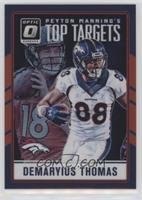Demaryius Thomas, Peyton Manning #/99