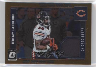 2016 Donruss Optic - Threads - Bronze #13 - Jeremy Langford