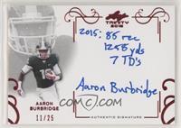 Aaron Burbridge #/25