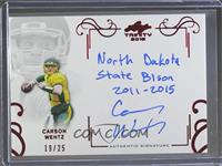Carson Wentz /25