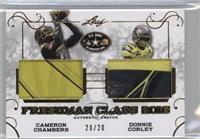 Cameron Chambers, Donnie Corley /20