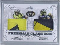 Shea Patterson, Dekaylin Metcalf [Uncirculated] #/35