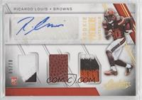 Rookie Premiere Materials Autographs - Ricardo Louis /10