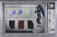 Rookie Premiere Materials Autographs - Jared Goff /199 [BGS 8 NM̴…