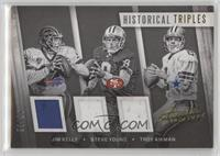 Jim Kelly, Steve Young, Troy Aikman /25