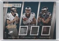 Jordan Matthews, Ryan Mathews, Sam Bradford /10
