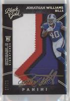 Sizeable Signatures Rookie Jersey - Jonathan Williams /99