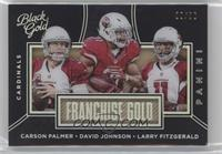 Larry Fitzgerald, Carson Palmer, David Johnson /50