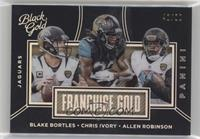 Chris Ivory, Allen Robinson, Blake Bortles #/50