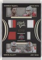 D'Angelo Russell, Devin Smith, Ezekiel Elliott, Joey Bosa /10