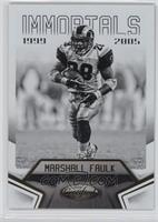 Immortals - Marshall Faulk /999