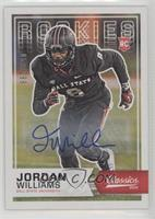 Rookies - Jordan Williams /299
