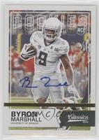 Rookies - Byron Marshall #/10