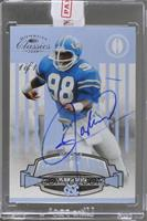 Lawrence Taylor (2008 Donruss Classics Old School Colors) /1 [ENCASED]