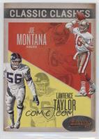 Joe Montana, Lawrence Taylor
