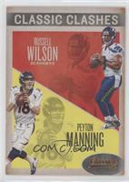 Peyton Manning, Russell Wilson