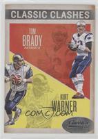 Kurt Warner, Tom Brady