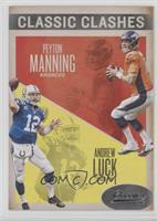 Andrew Luck, Peyton Manning