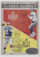 Jim Kelly, Troy Aikman