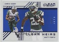 Matt Forte, Chris Ivory #/99