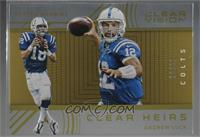 Peyton Manning, Andrew Luck [Noted] #/29