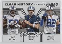 Jason Witten, Dez Bryant, Tony Romo