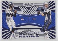Tom Brady, Peyton Manning #/99